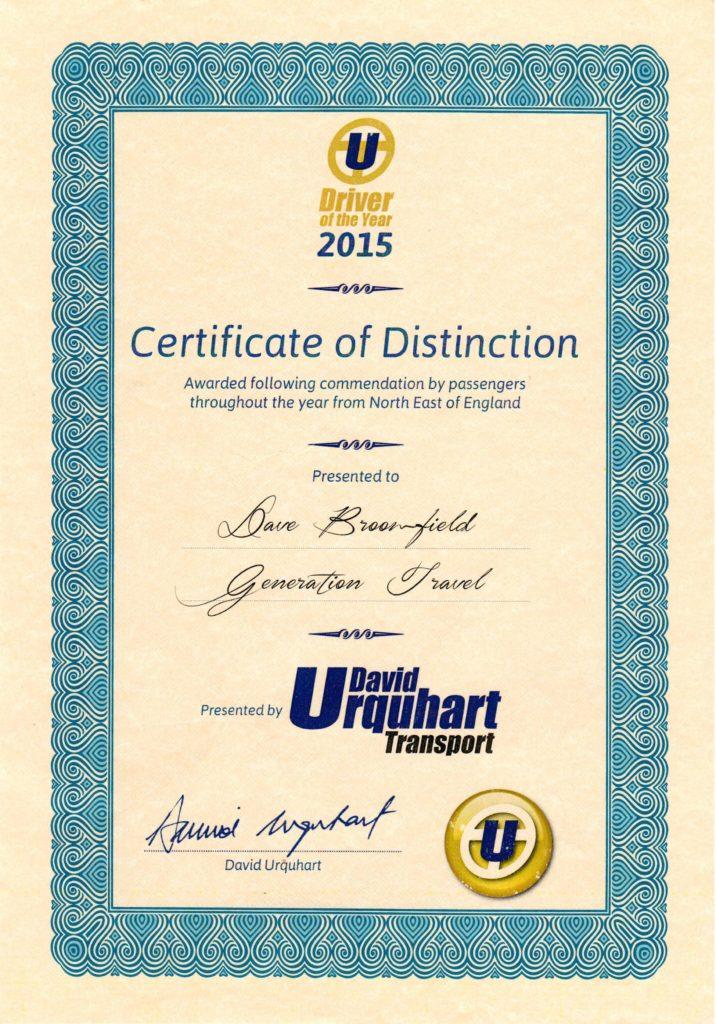 2015 certificate